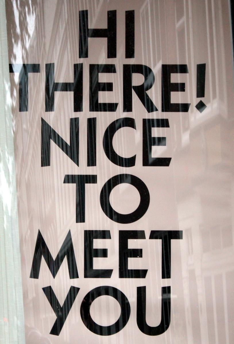 Dating nice to meet you